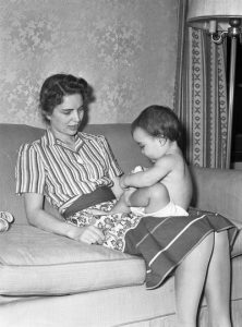 Mom and me . . . before the kid with birth defects.