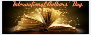 Picture of open book for International Authors' Day