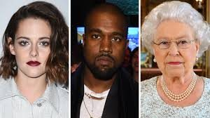 Lookism: latest peeve is RBF. Bust shots of Kristin Stewart, Kanye West, Queen Elizabeth.