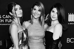 Lori Loughlin & Daughters.